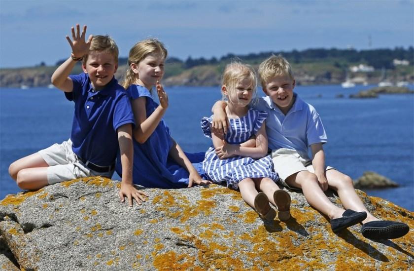 Prinsesjes en prinsen op vakantie  in de Vendée