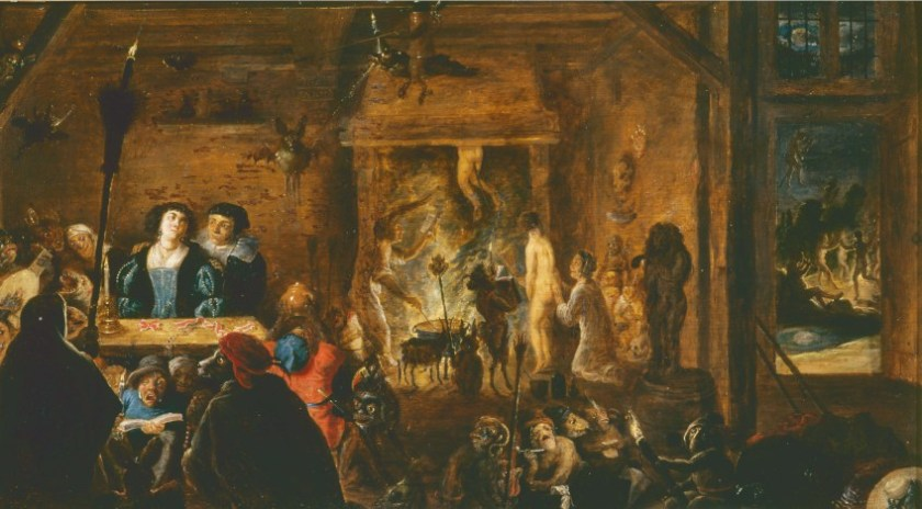 8.-Heksensabbat-David-Teniers-II-1633-Museツ-de-la-Chartreuse-Douai