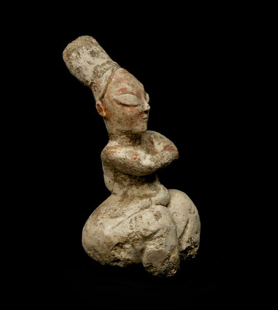 Seated_Female_Figurine_Nigde_Museum_SecondHalf6thMilleniumBC