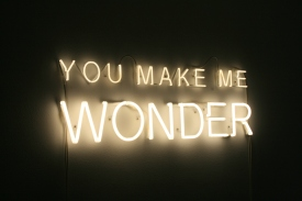 YOU MAKE ME WONDER, 2014 - Jeppe Hein (Denemarken)