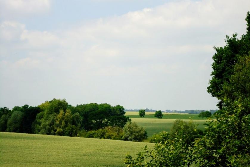 Landschap nabij Jodoigne