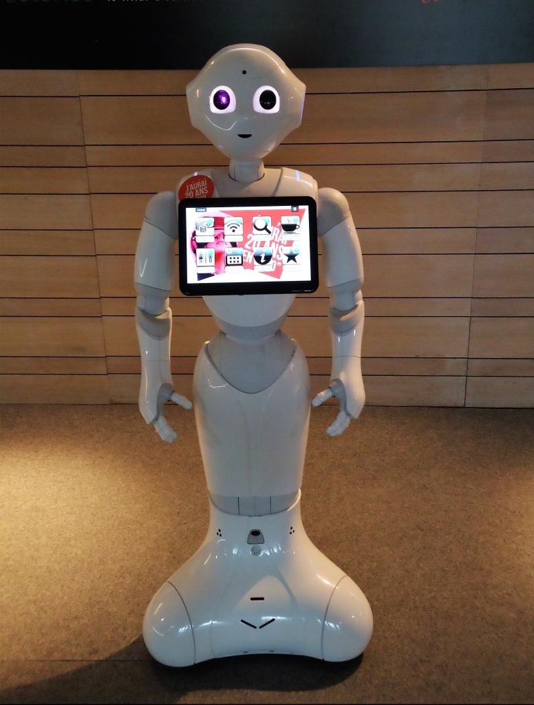 Robot Pepper - Expo Luik-Guillemins