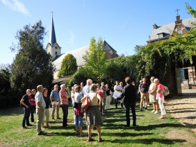 Pastorietuin, Sint-Amanduskerk en Erfgoedhuis - Erps (B)